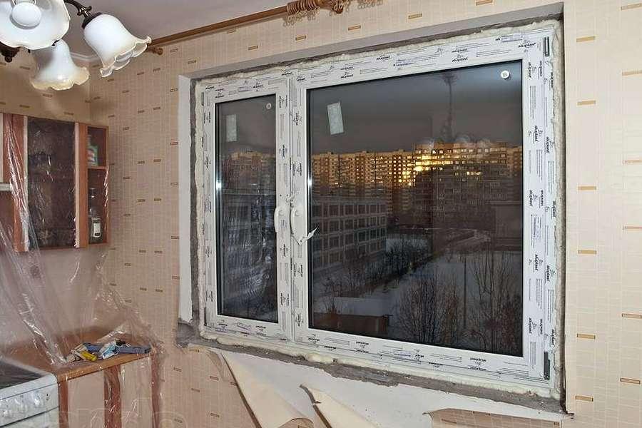Плохо установленные пластиковые окна