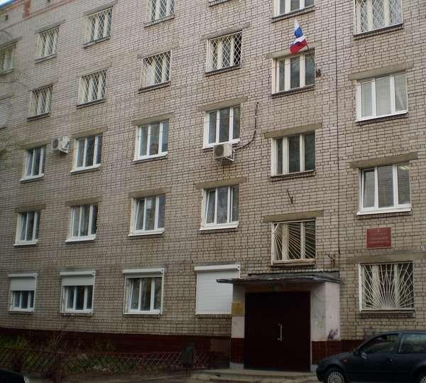 здание Заволжскогорайонного суда Ярославля